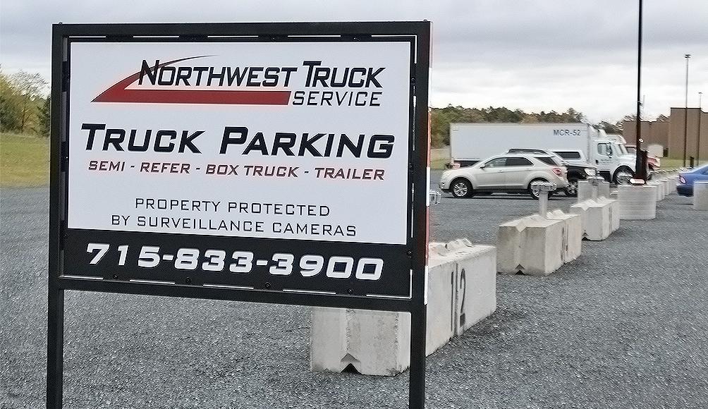 4 box Truck Parking